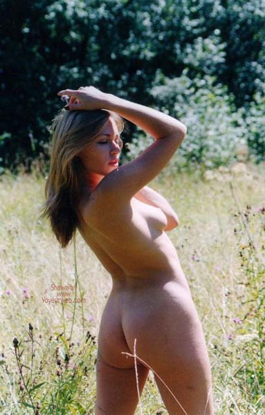 Pic #4 - German Blondy in Forest 2