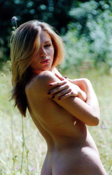 Pic #5 - German Blondy in Forest 2