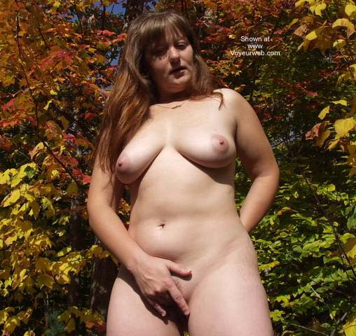 Pic #5 - Redhead Angel and Fall(en) Foliage
