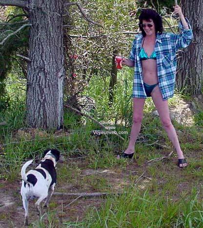 Pic #1 - Kiwi Wife Having Fun