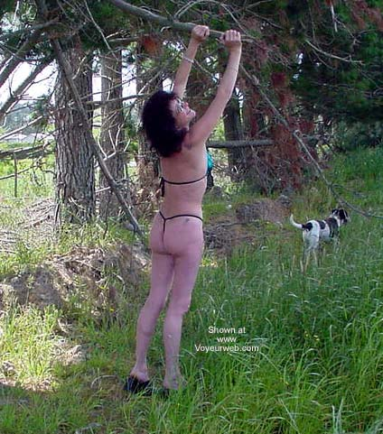 Pic #4 - Kiwi Wife Having Fun