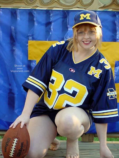 Pic #1 - Redheaded Michigan Fan, Go Blue!!