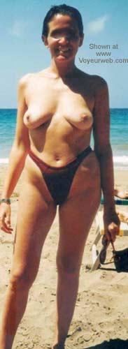 Pic #3 - Red Bikini 2