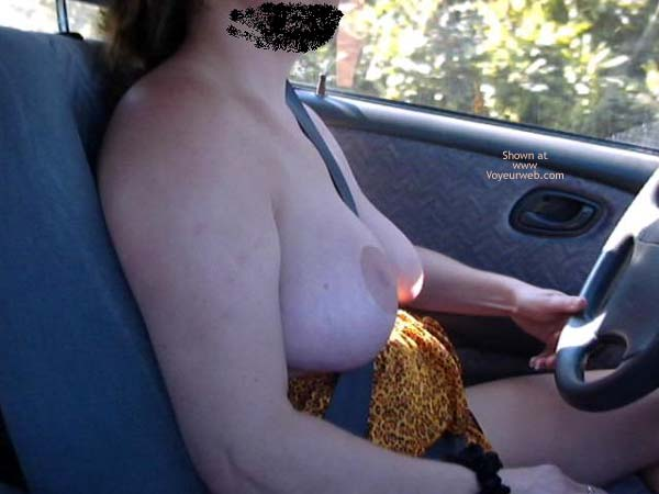 Pic #4 - Wife First Time in Public