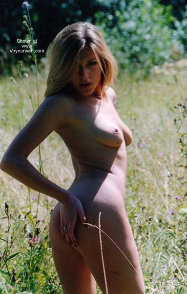 Pic #4 - German Blondy in Forest 4