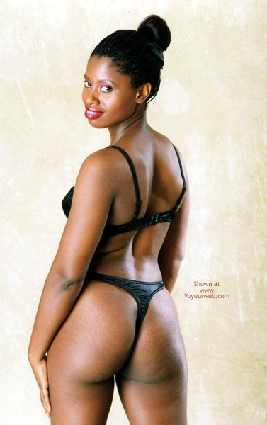 Pic #5 - Eve With And Without Black Thong And Bra