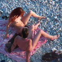 Voyeur Blowjob On The Beach