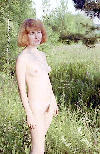 Pic #5 - Irishka Goes For a Walk On a Wood
