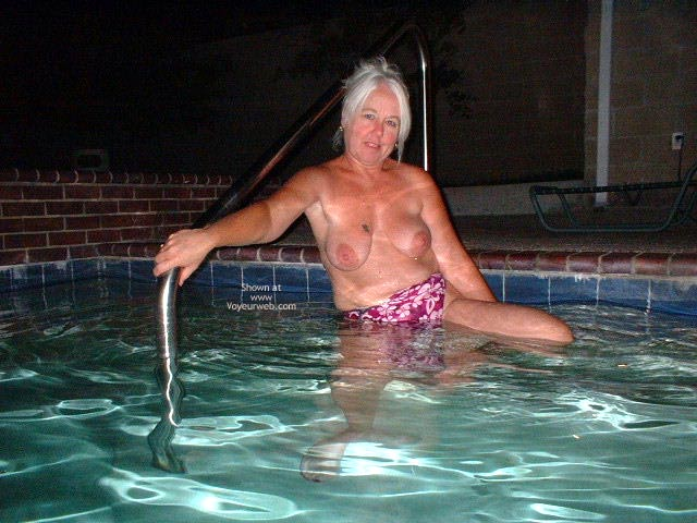 Pic #2 - Tammy Having Fun At The Pool