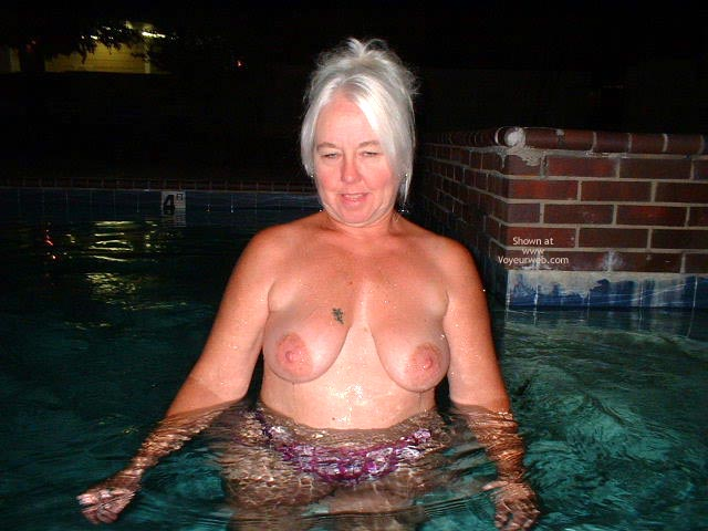 Pic #4 - Tammy Having Fun At The Pool