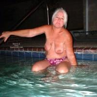 Tammy Having Fun At The Pool