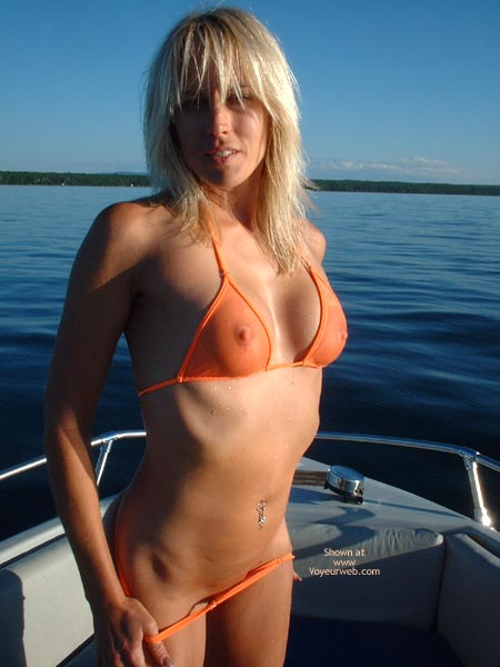 Pic #4 - Nikkie On The Boat