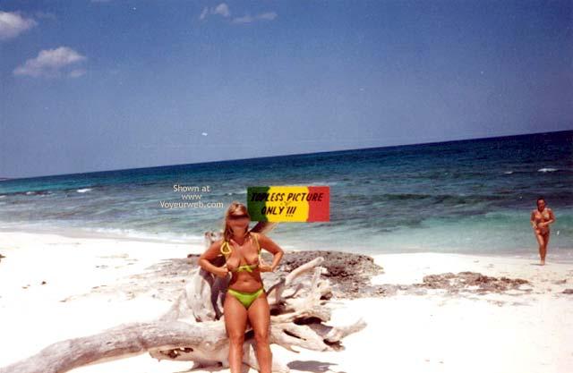 Pic #2 - Debra Needs Alot of Vacation