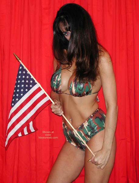 Pic #2 - *YO Isabella Salutes The Troops *2*