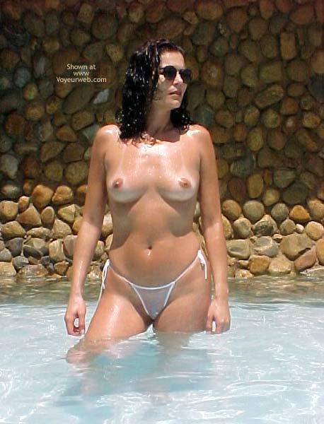 Pic #1 - Brazilian Girlfriend at The Pool