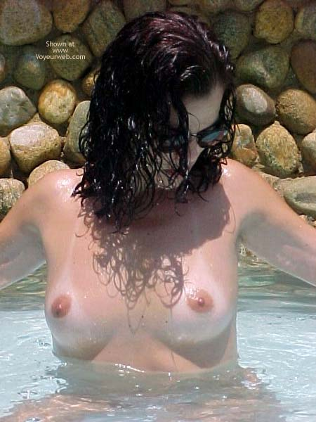 Pic #2 - Brazilian Girlfriend at The Pool