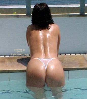 Pic #3 - Brazilian Girlfriend at The Pool