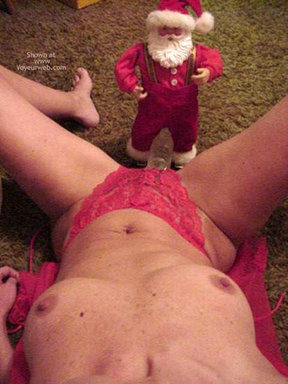 Pic #3 - My Chiquita and a Little Santa