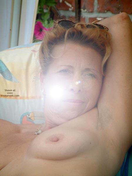 Pic #2 - My Wife Is 46 Yo, Relax In The Garden Ii