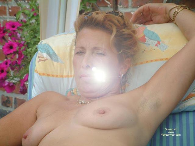 Pic #3 - My Wife Is 46 Yo, Relax In The Garden Ii
