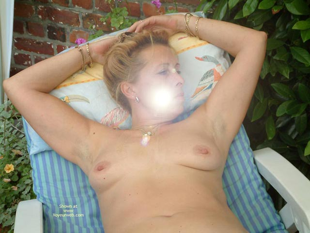Pic #5 - My Wife Is 46 Yo, Relax In The Garden Ii