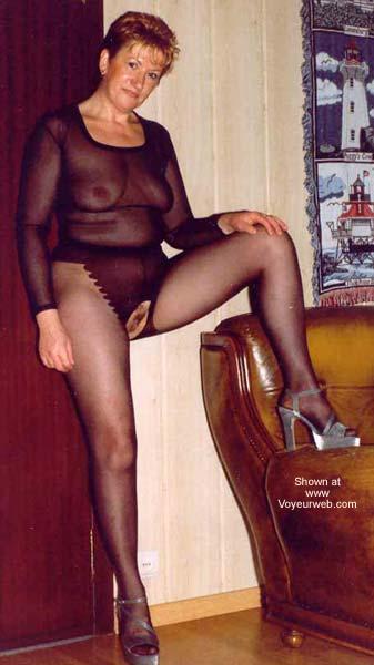 Pic #1 - *SN Blond in Pantyhose Slut From Belgium