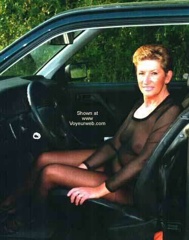 Pic #4 - *SN Blond in Pantyhose Slut From Belgium