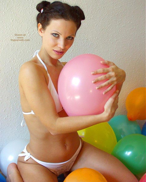 Pic #1 - Angelina With Balloons