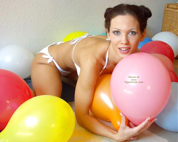 Pic #2 - Angelina With Balloons