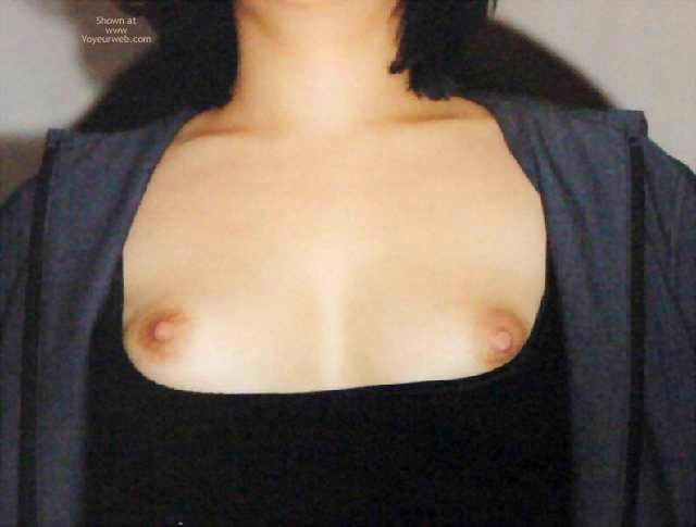 Pic #4 - Showing Breast On The Staircase