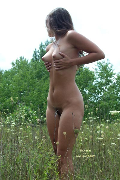 Pic #1 - Long Brunette Hair - Brunette Hair, In The Woods, Nude In Nature, Perky Tits , Long Brunette Hair, Nude In Nature, Perky Tits, Outdoors In Field, Unshaved, Cone Shaped Breasts, Grabbin  Tits, In The Woods
