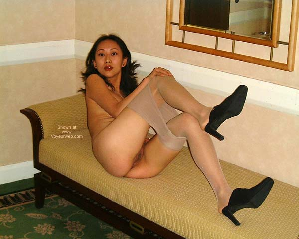 Pic #5 - *SN Chinese T.O. in Pantyhose
