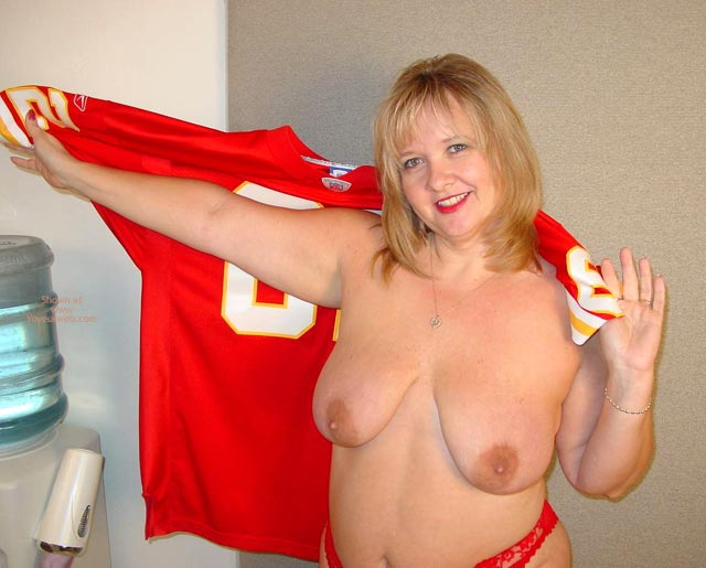 Pic #4 - Connie Is Ready For Some Football !