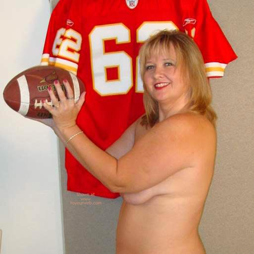 Pic #8 - Connie Is Ready For Some Football !
