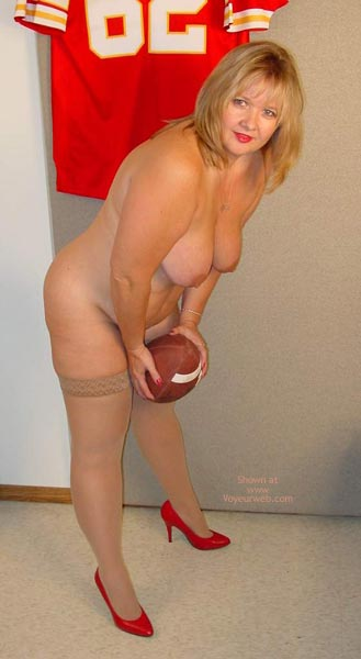 Pic #10 - Connie Is Ready For Some Football !