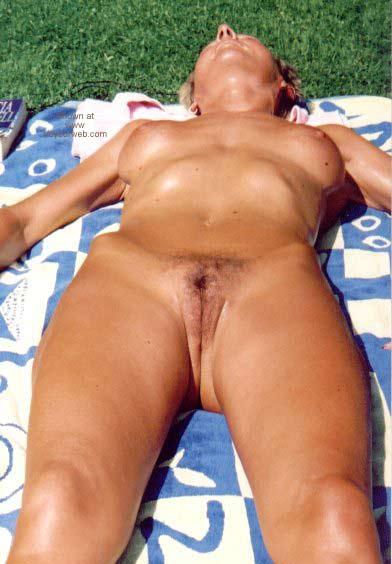 Pic #2 - My Wife in The Backyard