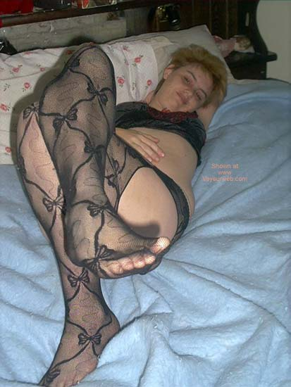 Pic #5 - *SN Black Stocking Pics For You