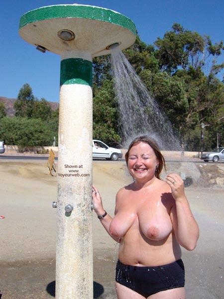Pic #4 - Roadside Shower Dare