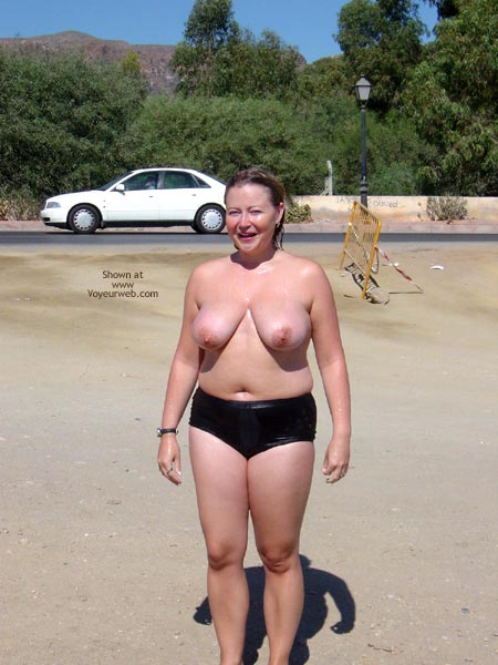 Pic #6 - Roadside Shower Dare