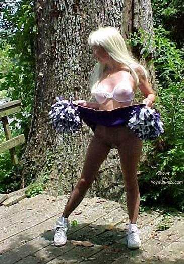 Pic #4 - Un Bunnie The Cheerleader Part 2