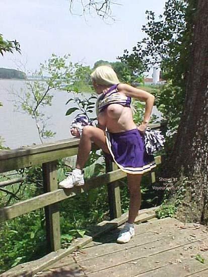 Pic #5 - Un Bunnie The Cheerleader Part 2