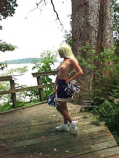 Pic #6 - Un Bunnie The Cheerleader Part 2