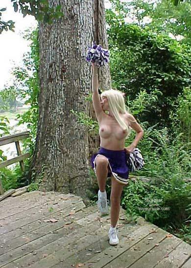 Pic #7 - Un Bunnie The Cheerleader Part 2