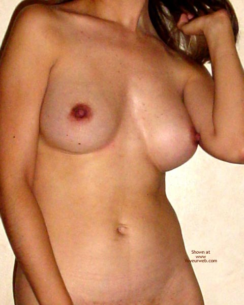 Pic #2 - First Contribution, Hard Nipples