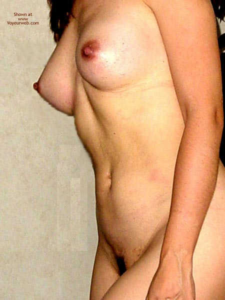Pic #3 - First Contribution, Hard Nipples
