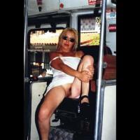 Miriam in a Bus of Cutcsa