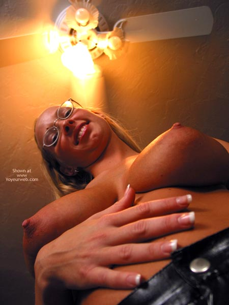 Pic #6 - Brittney In Glasses And Latex
