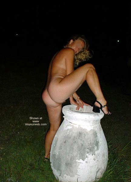 Pic #1 - Sexy Wife Outdoors!!
