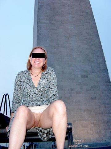 Pic #7 - Flash Cards, Bunny At Washington Monument, Dc