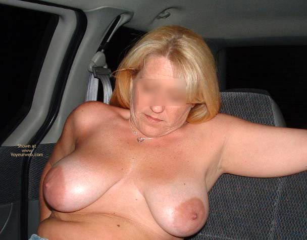 Pic #1 - Backseat With Mrs. Boobman